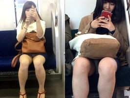 電車内でパンチラしてるお姉さんのオマンコ臭を嗅ぎたいですwwwwwwwwwwwwwww