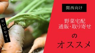 関西(大阪・京都)野菜宅配・通販取り寄せのおすすめ
