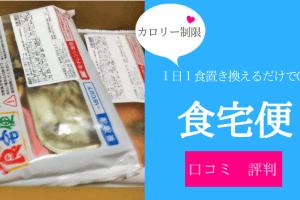 【カロリー・塩分の制限宅配】日清医療食品の食宅便の口コミ・感想!