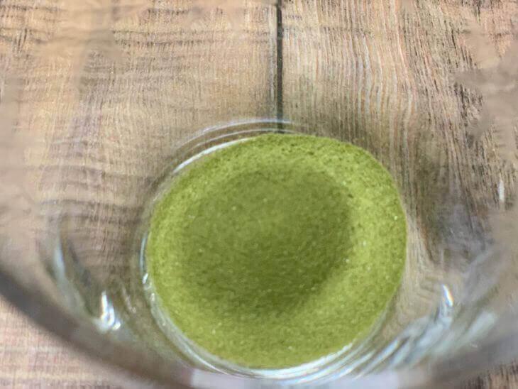ふるさと青汁の中身の粉