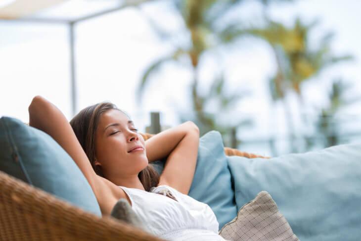 リラックス効果、安眠効果