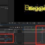 【AE初心者2019】randomエクスプレッションで文字を揺らして衝撃波風エフェクトもつける|Beggie