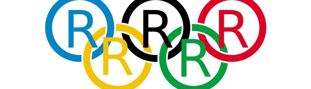ioc olympic flag (R) satire