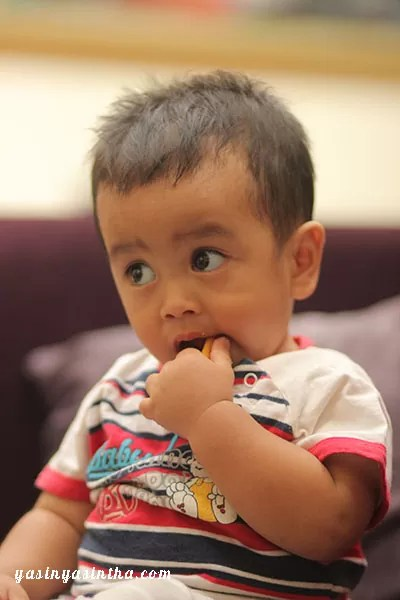 baby first bite, blogger, parenting, blogger campaign, media sosial