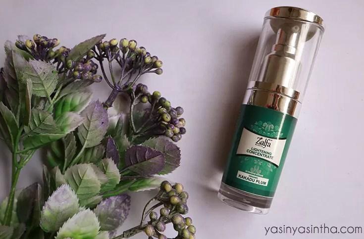 zalfa serum, kakadu plum, review zalfa serum, review zalfa cosmetics, beauty blogger, blogger review