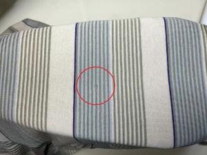 ポロシャツ袖穴