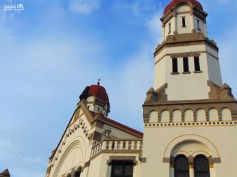 Arsitektur bangunan Lawang Sewu