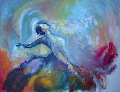 Walking into sound painting by yasmeen amina olya