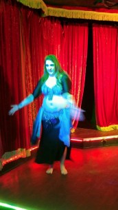 forgive the blurry image, dancing and snapping photos don't always mix