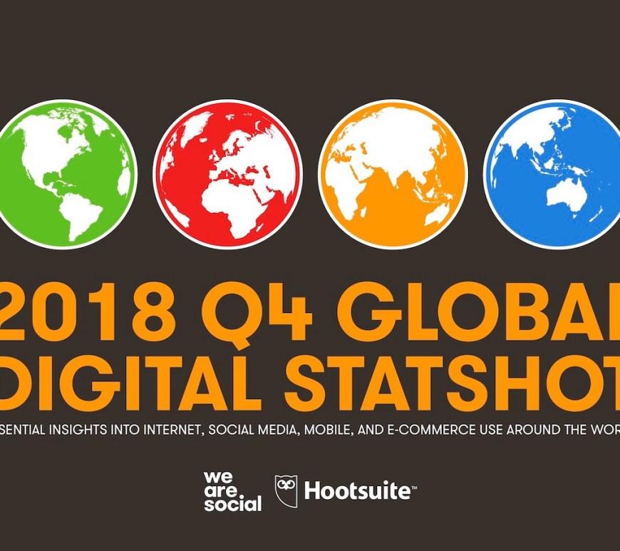 October 2018 - Q4 global digital statshot