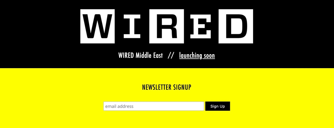 WIRED Middle East in Spring 2019