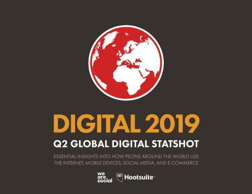 Digital Global Statshot Q2 2019 for Middle East