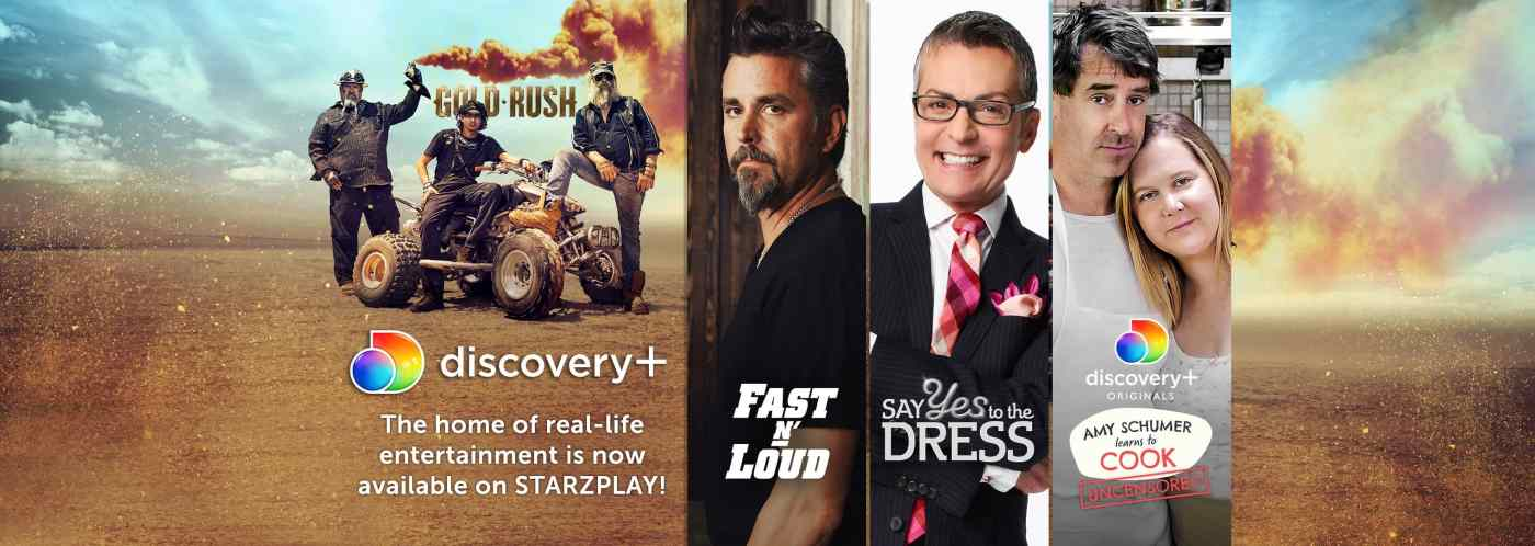 StarzPLay brings newly-launched Discovery+ to the MENA region alongside its global launch