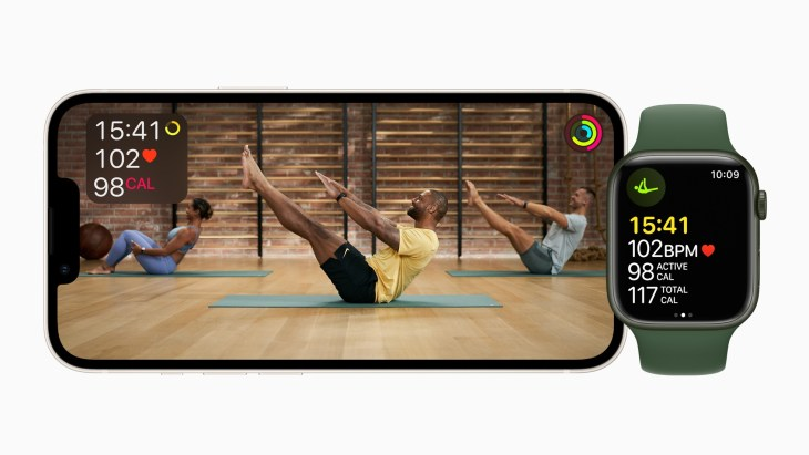 Apple Fitness+ works with Apple Watch Series 3 or later