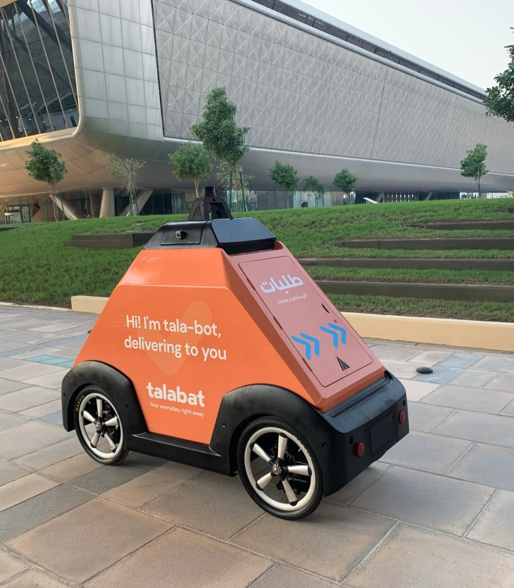 talabat and Airlift expand autonomous deliveries to Msheireb District in Qatar