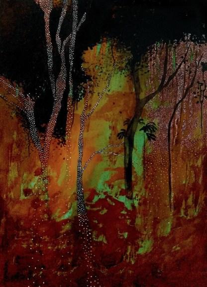 juliana hoffmann - obra de sobre viventes