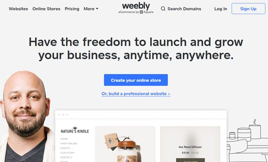 weebly set up