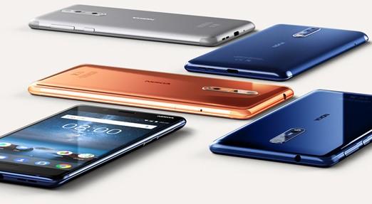 Nokia 8 カラバリ
