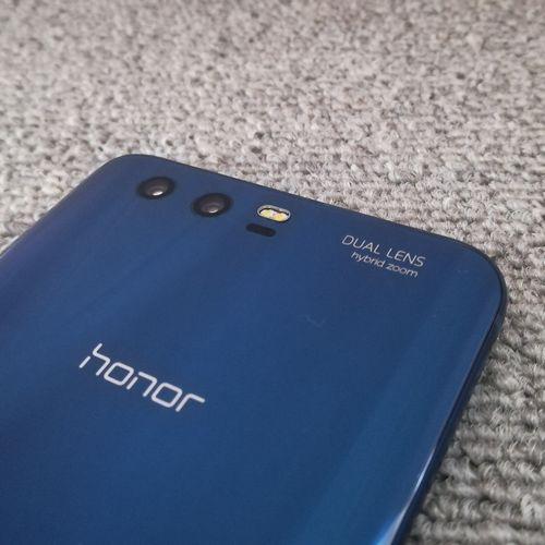 honor 9 背面 デュアルカメラ