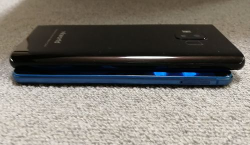vkworld S8とHUAWEI P10 liteの比較