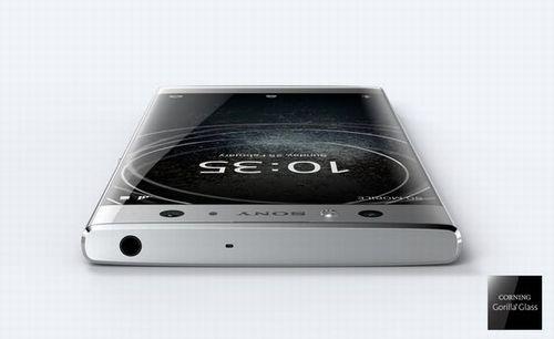 「Xperia XA2 Ultra」の「ボーダレスデザイン」