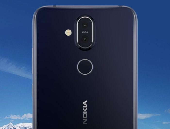 「Nokia X7」のデュアルレンズカメラ
