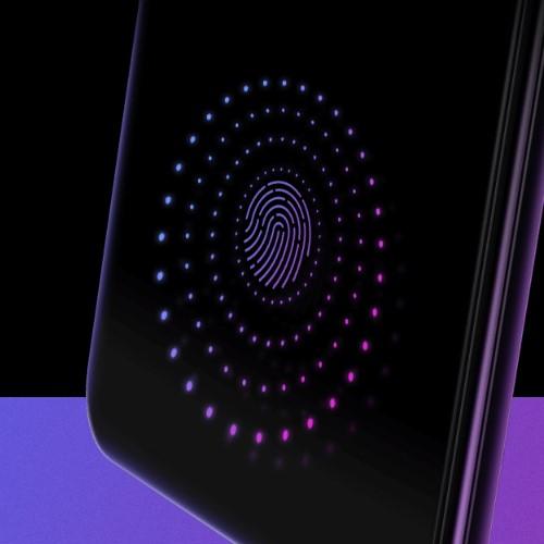 ディスプレイ内指紋認証センサー