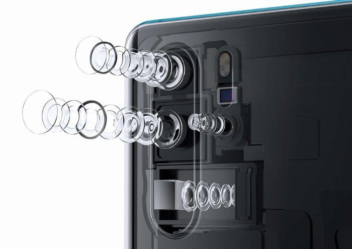 「HUAWEI P30 Pro」のクアッドカメラ