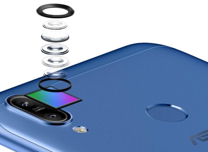 「ZenFone Max (M2)」のデュアルカメラ