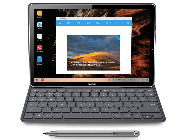 「HUAWEI MediaPad M6 10.8」の優れた入力性