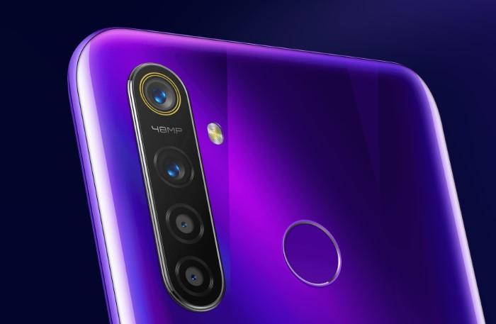 「Realme 5 Pro」のクアッドカメラ