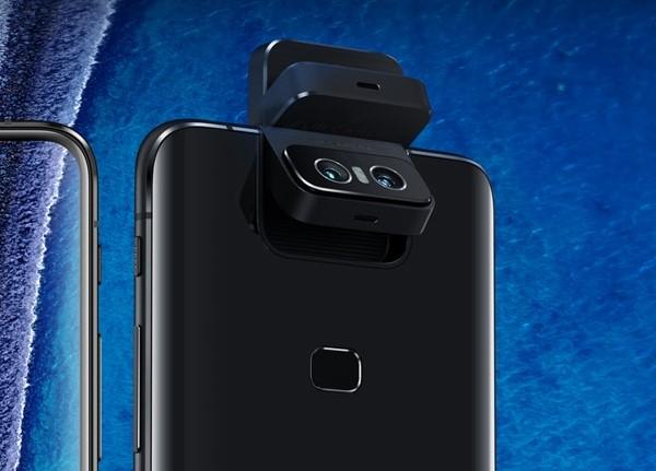 フリップ式のカメラ