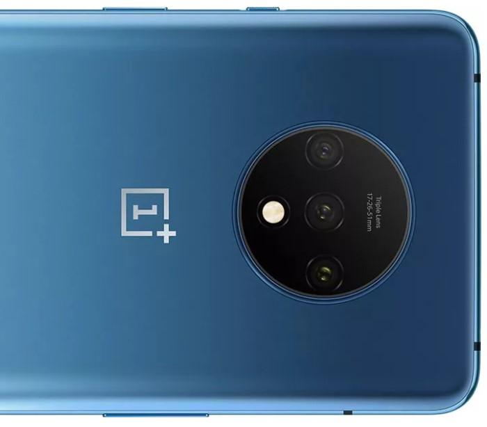 「OnePlus 7T」のトリプルカメラ
