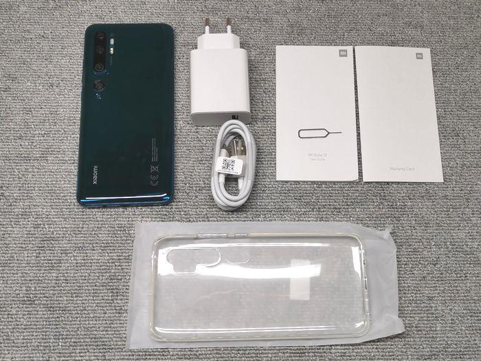 「Mi Note 10」の付属品