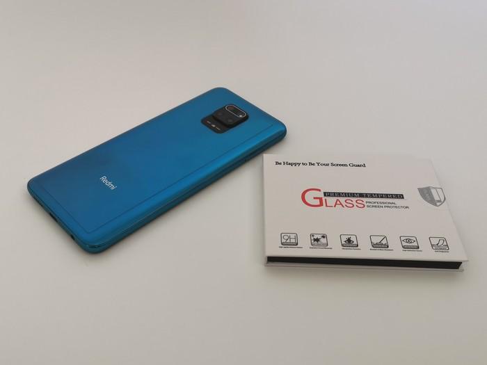 Amazon購入の「Redmi Note 9S」用のカメラレンズ保護フィルム
