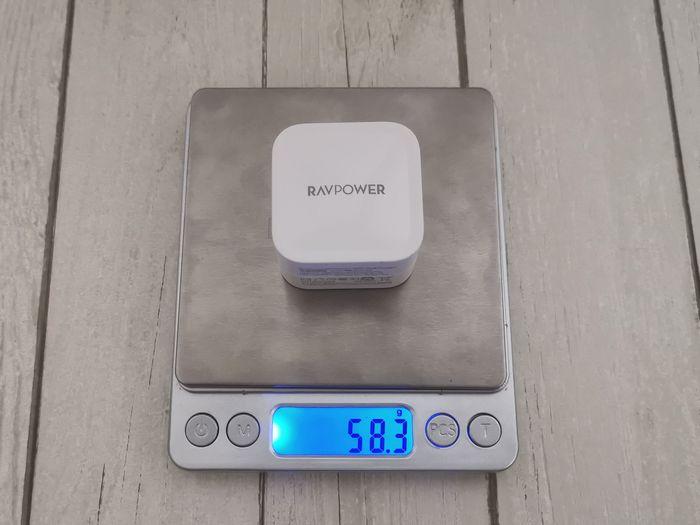 RAVPower「RP-PC120」はめちゃ軽い
