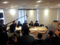 Press Conference of the YASunidos, Thursday (13/03/14)