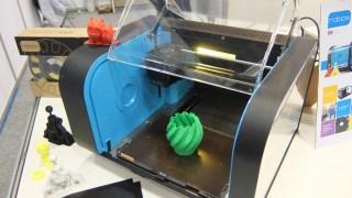 3Dプリンターを見てきた! CEL Roboxは今まで見た中で最高レベルの滑らかさ!
