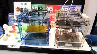 3Dプリンターを見てきた‼︎ BS01+とidbox!はやっぱりよく似てるね