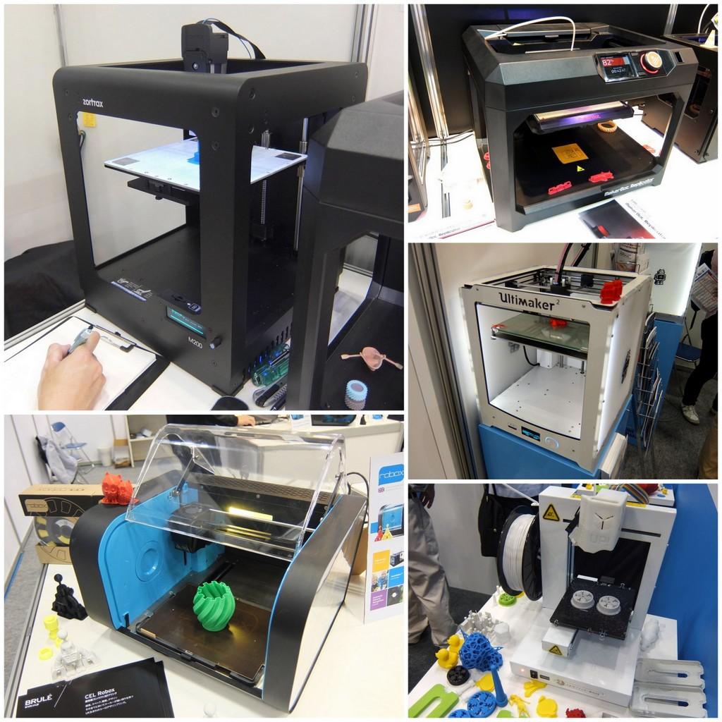 家庭用3Dプリンター34機種を見てきた! 価格やスペックだけだなく、写真で見て妄想しようぜ。