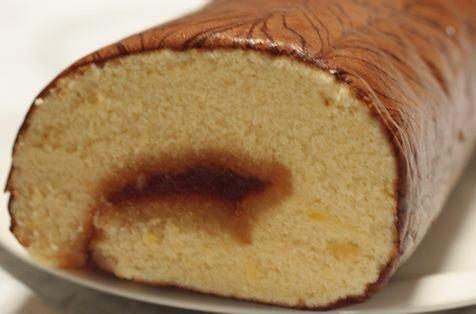 安政堂 菓子本舗 ロールケーキ
