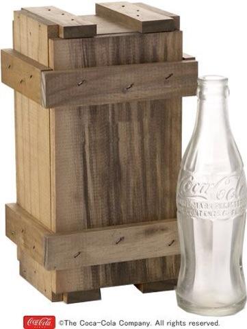 アンティークボトル木箱セット