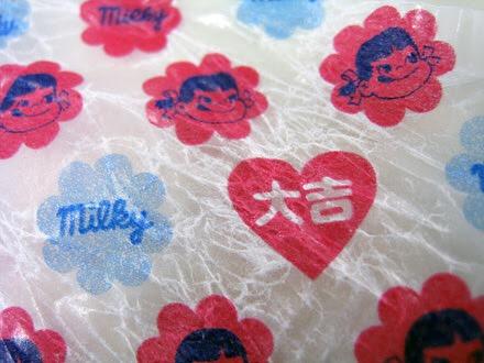 ミルキーの包み紙