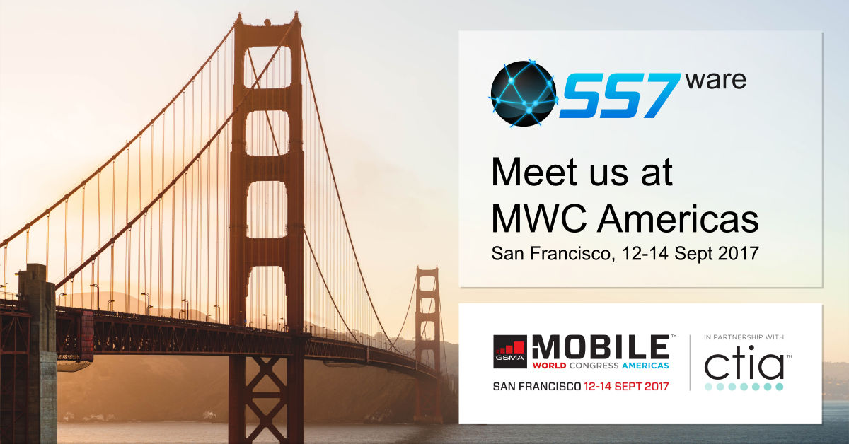 SS7ware attended as exibitor first edition of MWC Americas, September 2017