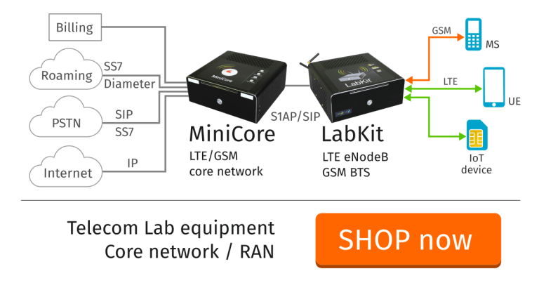 Telecom and wireless test equipment for research and development labs, IoT production line testing and Universities