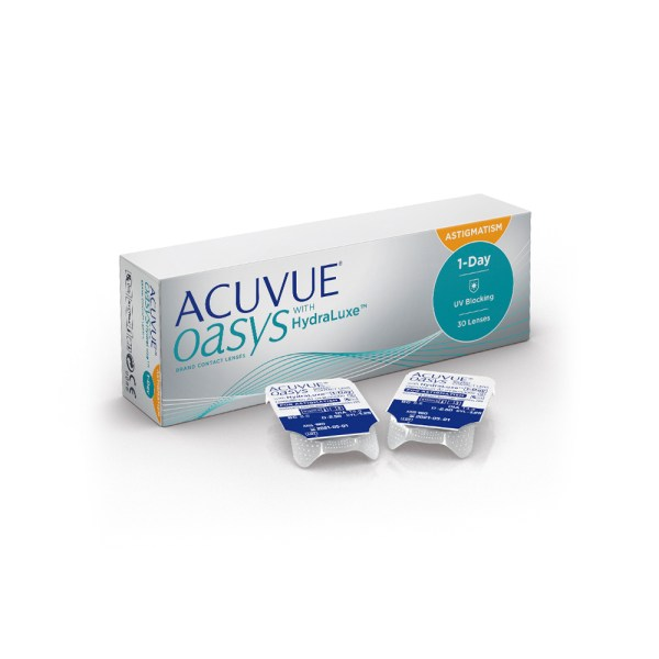 ACUVUE OASYS® 1 DAY for ASTIGMATISM