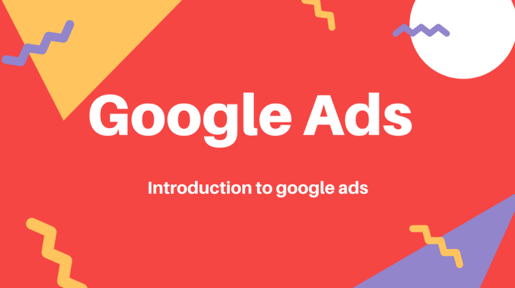Google search ads - Introduction