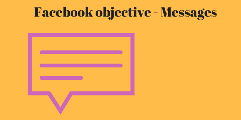 Facebook objective - Messages