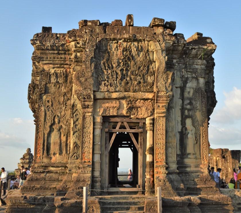 Gopura at the center of Bakeng Hill in Siem Reap, Cambodia