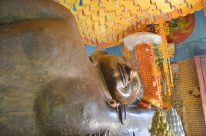 Reclining Buddha in Preah Ang Thom, Cambodia